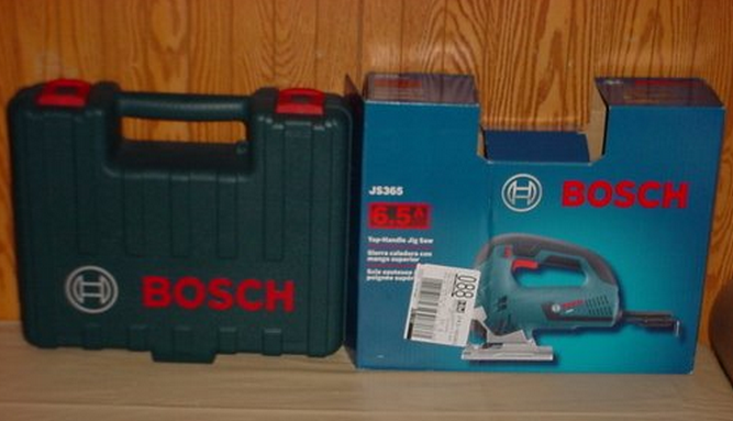 Bosch js365 Package