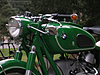 6.3 gallon Large stock sport tank mounted on Kevin's green 1968 R69S with BMW motorcycle