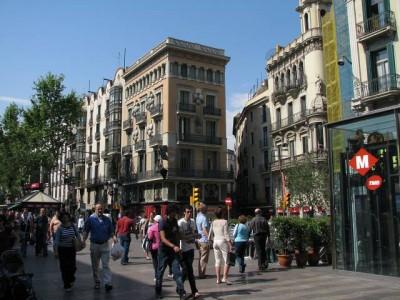 El Raval Barcelona (foto Bicloch)