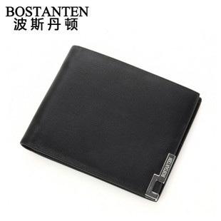 波斯丹顿B30113睿智典雅简约男士横款钱包