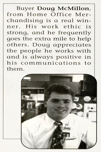 Walmart CEO Doug McMillon 1993