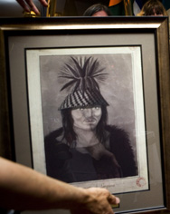 This image of Qeyapaplanewx has sat for years in the storage area of a Madrid museum.