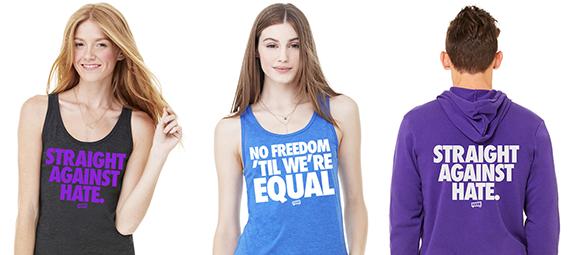 Equality Tees, Tanks & hoodies