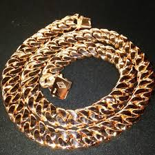 fat cuban link gold chain