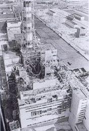 Po wybuchu w elektrowni czarnobylskiej 4