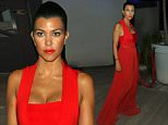 EXCLUSIVE: **PREMIUM EXCLUSIVE RATES APPLY** Kourtney Kardashian looking stunning in a red dress while out for dinner in St Bart's\n\nRef: SPL1105306  210815   EXCLUSIVE\nPicture by: Brian Prahl / Splash News\n\nSplash News and Pictures\nLos Angeles: 310-821-2666\nNew York: 212-619-2666\nLondon: 870-934-2666\nphotodesk@splashnews.com\n