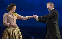 Amanda Drew and John Simm in Three Days in the Country