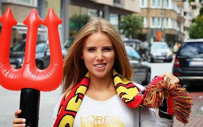 Why are people so fake with Axelle Despiegelaere.. See News