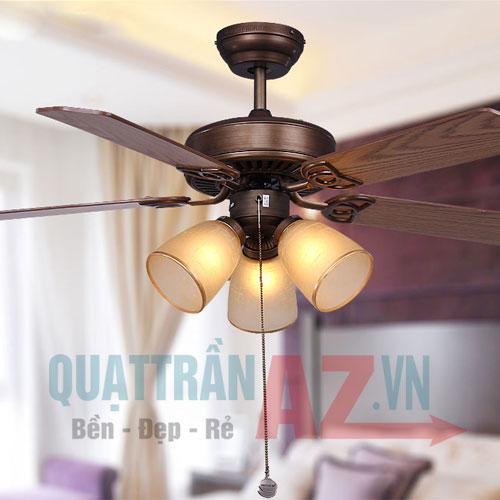 Quạt trần cánh gỗ Mountain Air QAZ-3044