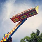 Weeee! The #coastguardfest carnival opens again today at 2pm! You can check it out daily from now through Saturday on Washington Avenue. #visitgrandhaven #grandhaven #puremichigan #coastguardcityusa #midwestmoment #carnival