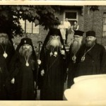 St. John (Maximovitch) and other ROCOR bishops visiting Bp. Petros in the 1960s.