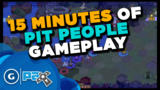 15 Minutes of Pit People Gameplay - The Behemoth's latest game