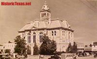 Austin County Courthouse, Bellville, Texas 1940s