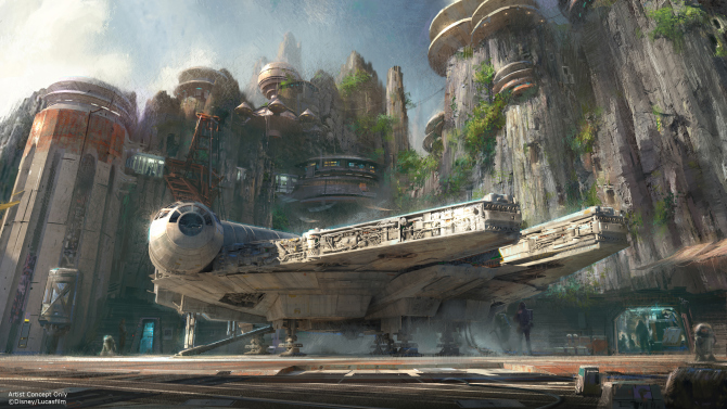 Star Wars-Themed Lands disney