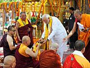 Narendra Modi, Bodh Gaya
