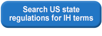 Search US state regulations for IH terms