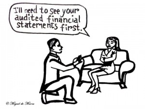 The Business Proposal Cartoon - Law Firm, Law Partner, Lawyer, Attorney