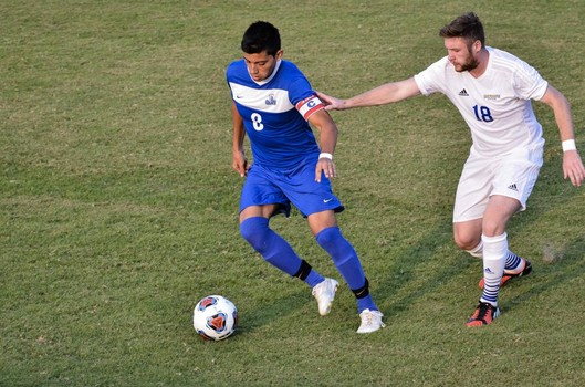 OLLU look to keep possession against St. Mary's