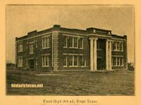 Frost High School, Frost, Texas 1900s