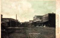 Main Street Looking West, Pittsburg, Texas 1911