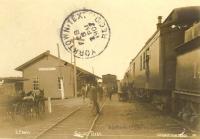 Depot, Goliad, Texas 1907
