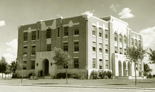 Moore County Courthouse, Dumas, Texas 1939