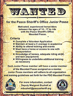 Junior Posse Flier photo