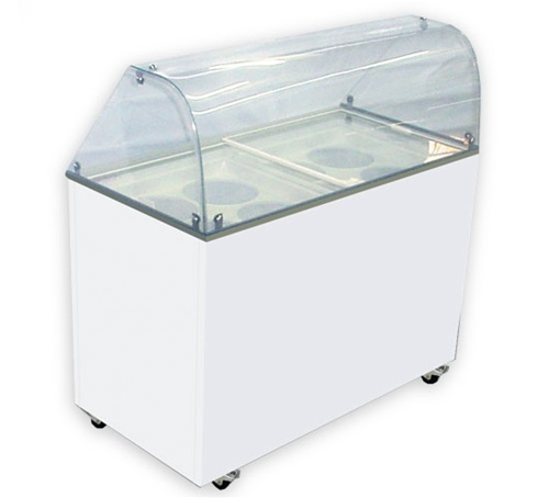 ice cream dipping cabinet for sale