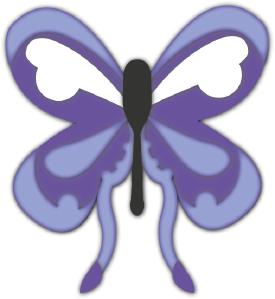 Garden Butterfly cut file