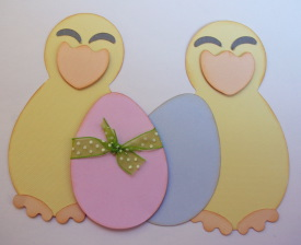 Easter Chicks cut file