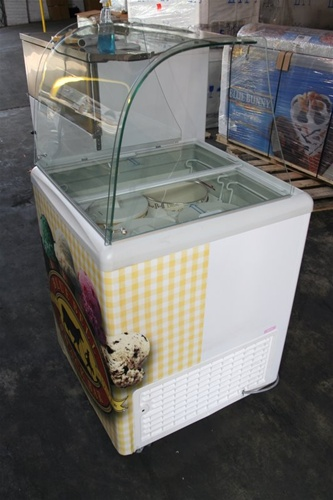 small ice cream dipping cabinets for sale