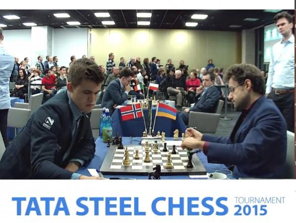 in caduta libera come il suo Re nella partita con Carlsen del Tata, Aronian ha perso