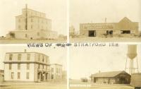 Views of Stratford Texas -- Mill & Elevator, Livery & Feed, Hotel, Depot