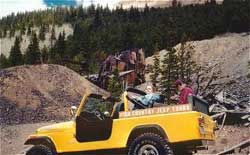 Vacation Adventure with High Country Jeep Tours in Colorado