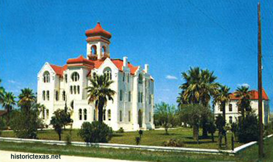 Aransas County Courthouse, Rockport, Texas early 1950s