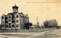 Aransas County Courthouse, Rockport, Texas 1900s