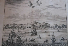 Ambon (17th century print), Indonesia. No Copyright