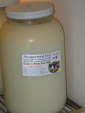 Raw milk I purchased in 2008.