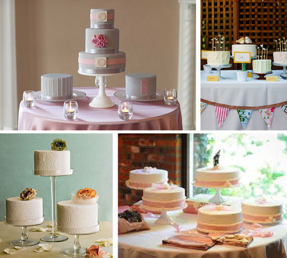 Multiple Wedding Cakes
