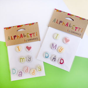 Fathers Day Personalised Magnets