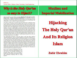 Click to Download PDF: Hijacking the Holy Qur'an and Islam  By Zahir Ebrahim | Project Humanbeingsfirst.org 1st Edition August 2013