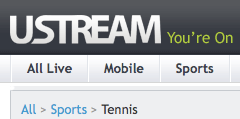 Free French Open live streams
