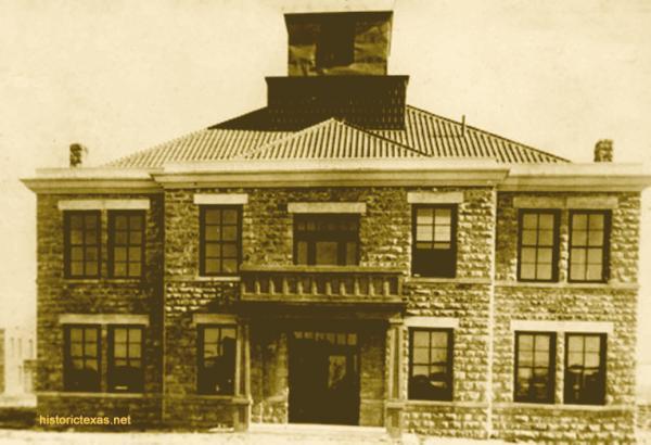 Upton County Courthouse, Upland, Texas 1911