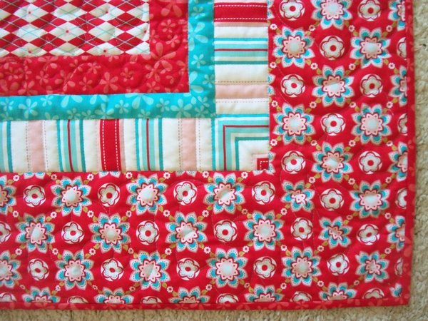 Sugar & Spice Mitered Border