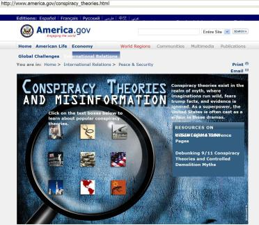 Anatomy of Conspiracy Theory By Zahir Ebrahim