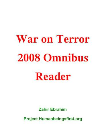 The WAR on TERROR 2008 Reader