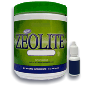 zeolite powder and liquid zeolite