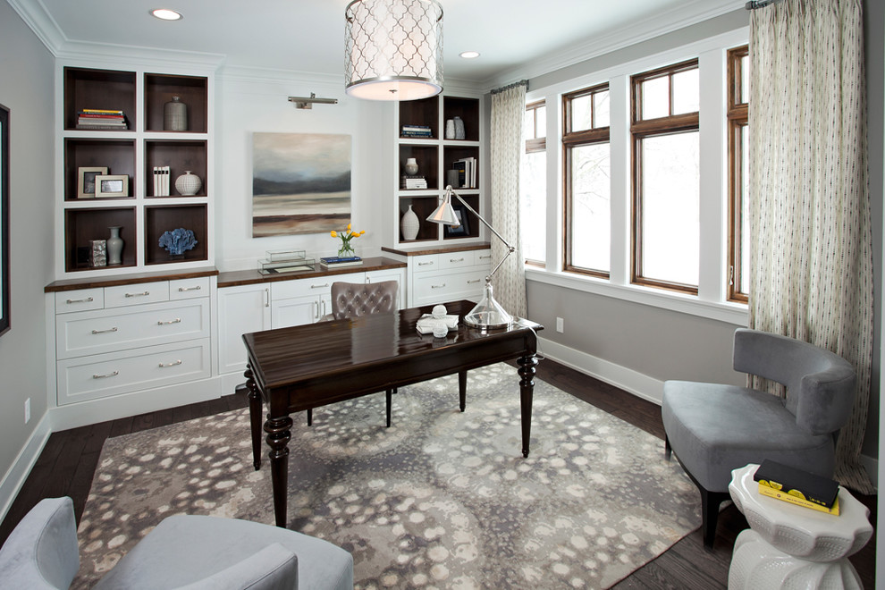 Transitional Office Design | Laurel & Wolf