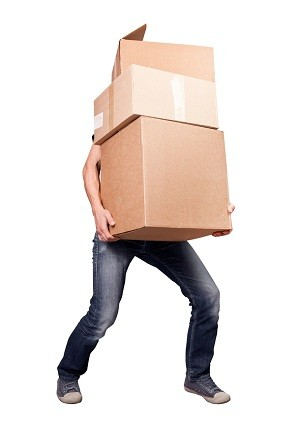 Carry Boxes Properly For a Healthy Back