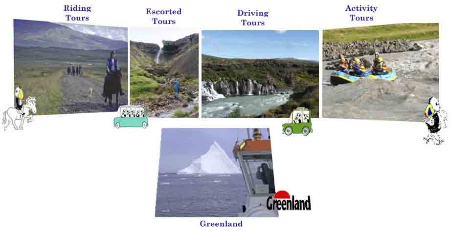 Adventure in Iceland, Icelandic horse treks, Escorted tours in Iceland,Driving rental cars in Iceland